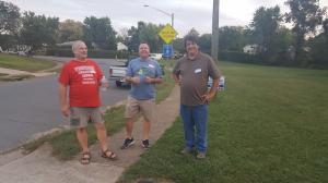 Leaders on the Sidewalk